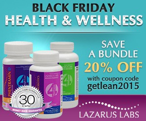 Display Ad Contest for Lazarus Labs Get Lean 2015
