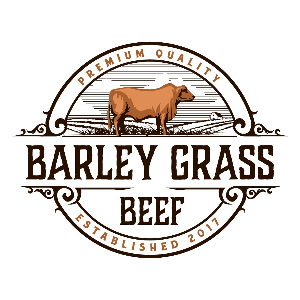 Country logo for Barley Grass beef