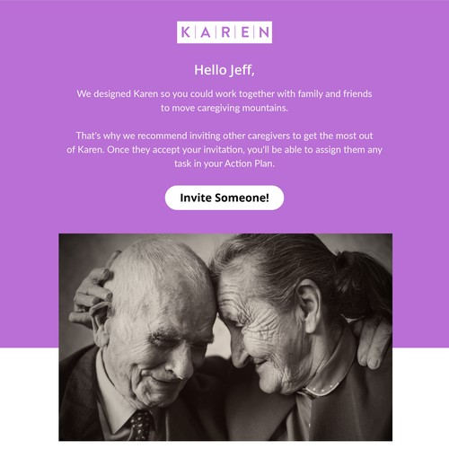 Karen Care - Marketing Email