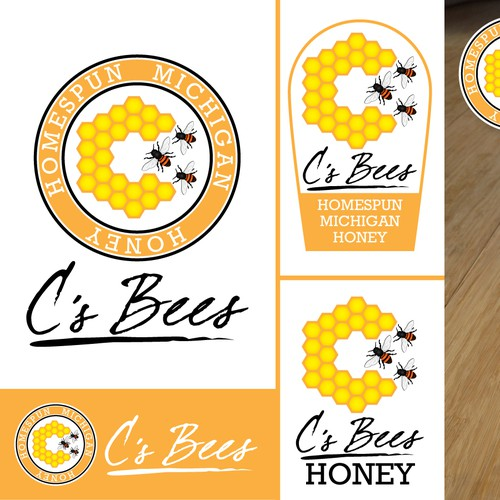 C's Bees needs a logo