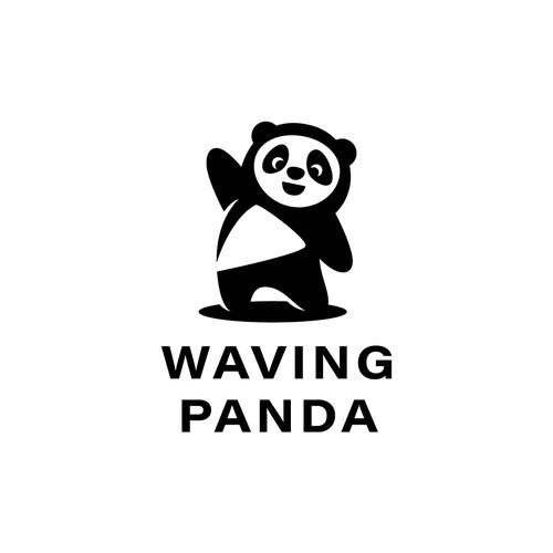 Logo concept  for Waving Panda