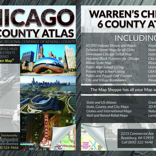 Chicago 6 County Atlas