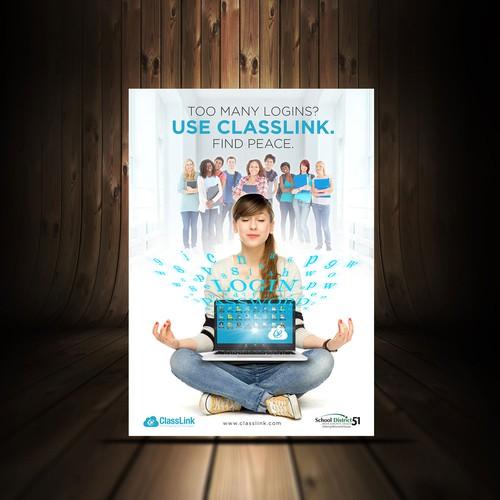 制作海报......影响成千上万的学生和老师的学习!