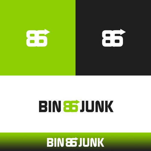 impactful logo for a junk removal business..