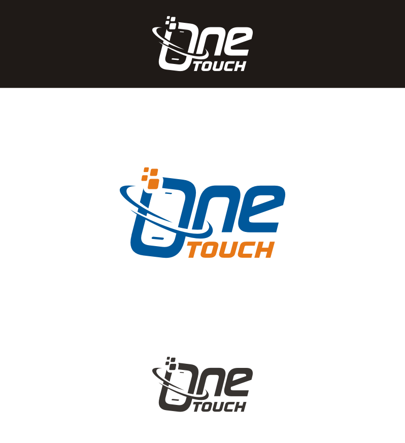 High Tech logo for mobile development company