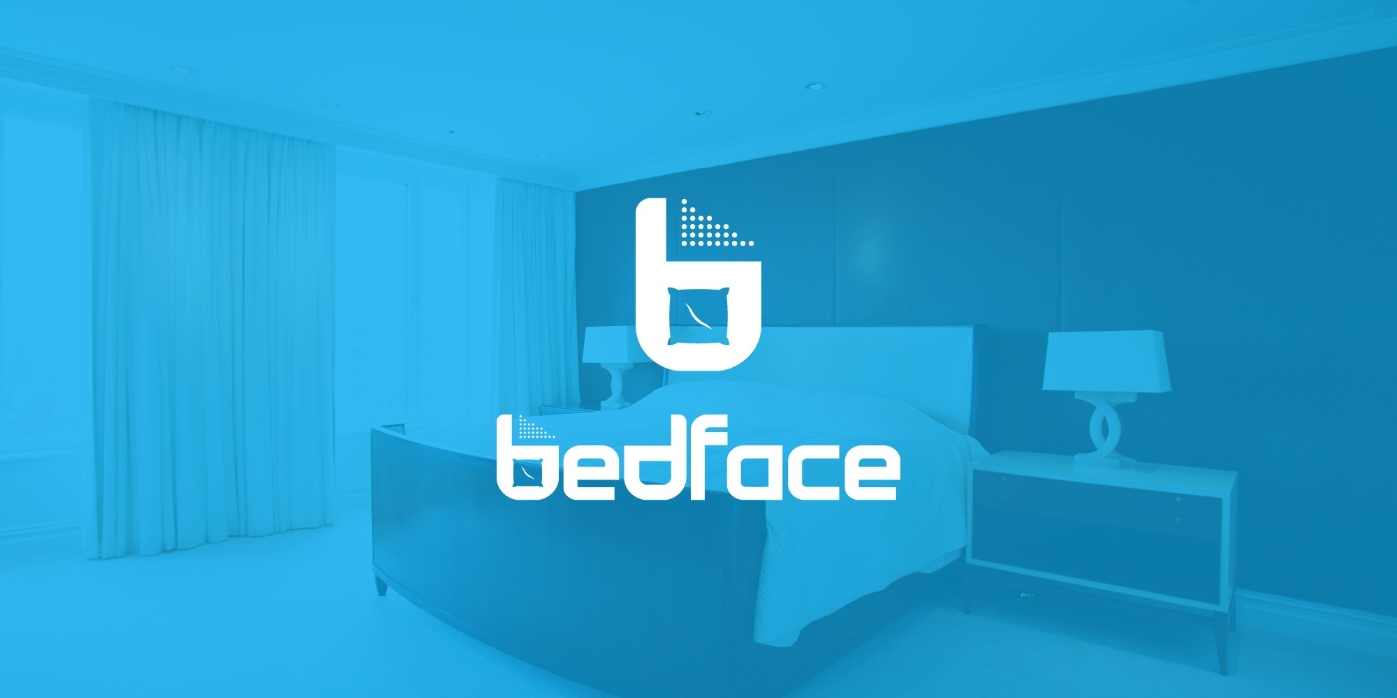 Create a logo for Bedface. The revolution of bedding.