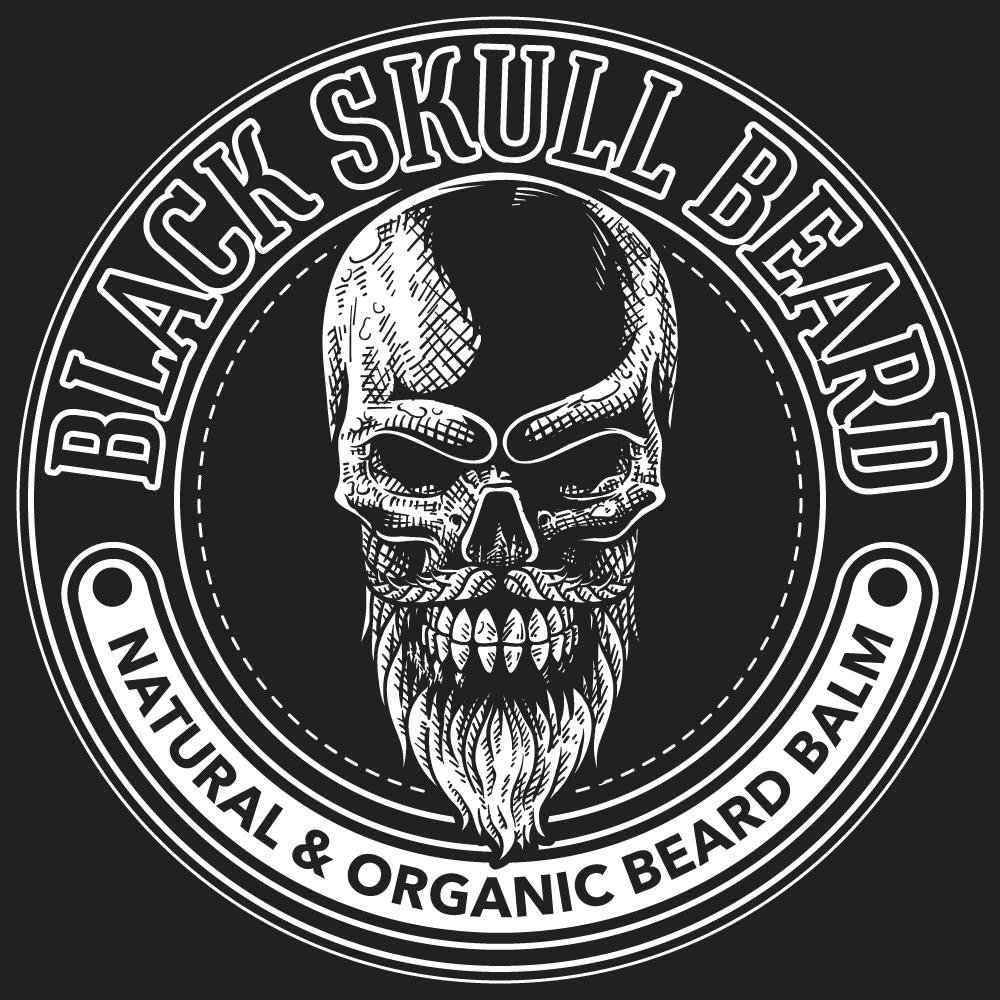 "Design a badass logo for ""Black Skull Beard Company"""