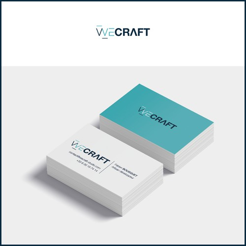 Concept de logo pour un artisan développeur.
