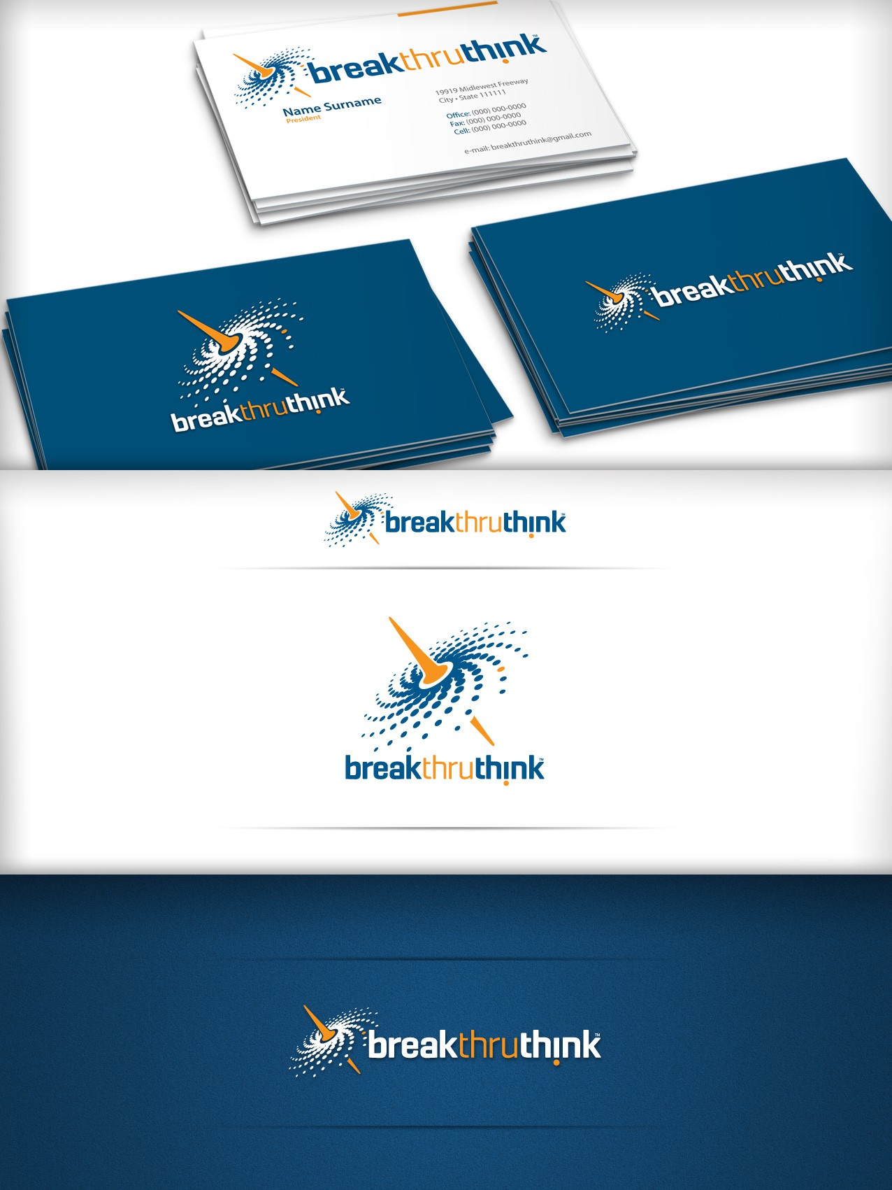 New logo wanted for Break thru Think
