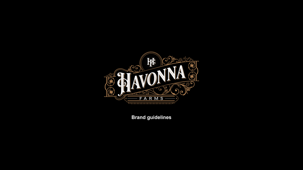 Havonna Farms - style guide