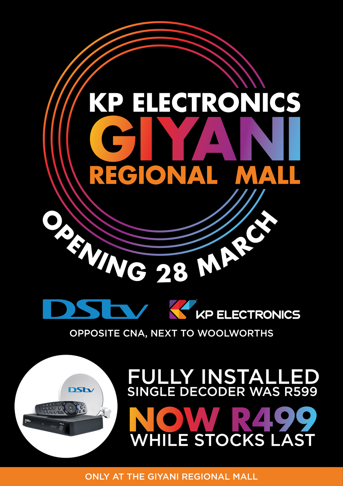 KP Electronics - New Store opening