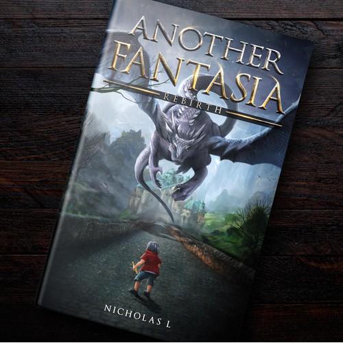 """Another Fantasia"" Cover Artwork (Fantasy)"