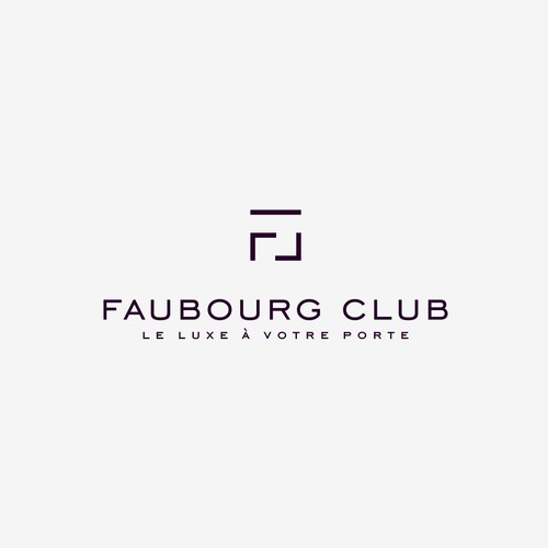 Faubourg Club Logo Design