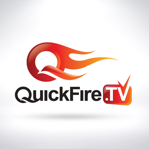 Logo Concept for QuickFire.TV Redesign