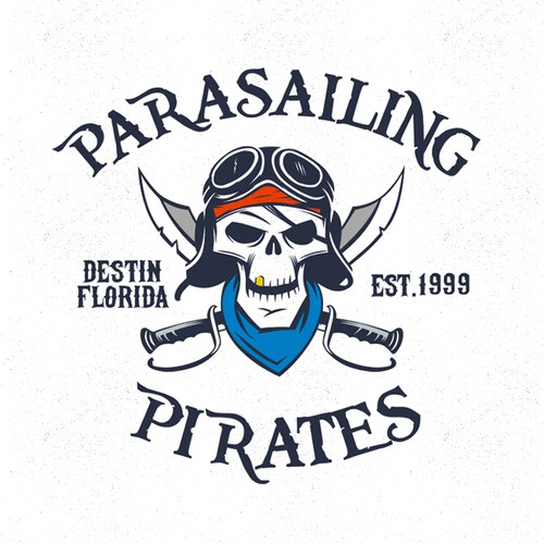 logo for Parasailing Pirates