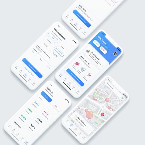 Covid proximity App