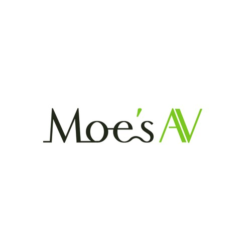 Moe's AV need your help to design a logo!