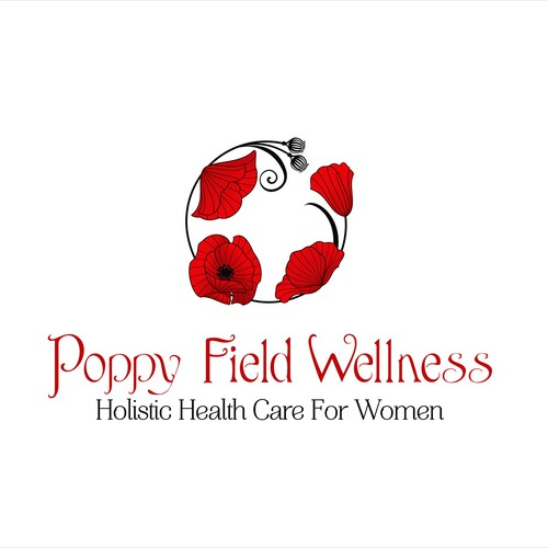 Create Beautiful Art Nouveau Poppies for Poppy Field Wellness