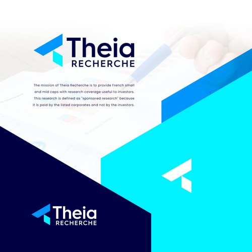 Modern Logo for a Research Company