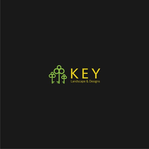 UNLOCK the Logo potential for KEY Landscape & Designs