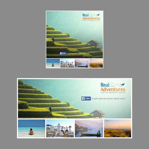 Design an eye-catching Facebook Ad for Travel Deals & Specials
