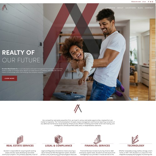 Accolent Realty - Redesign