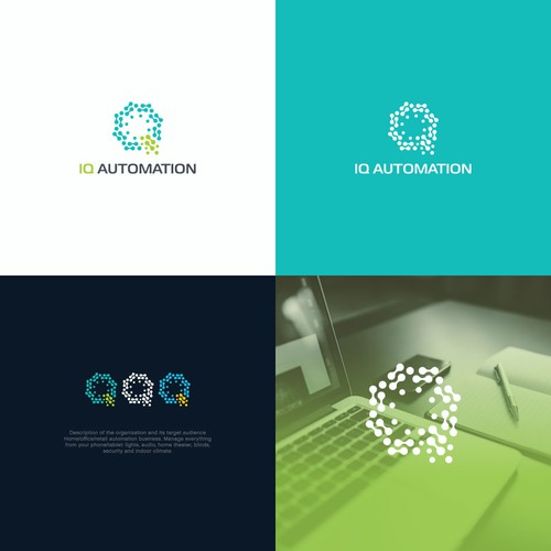The smart logo for IQ Automation