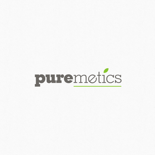 Logo concept for natural/vegan cosmetic brand