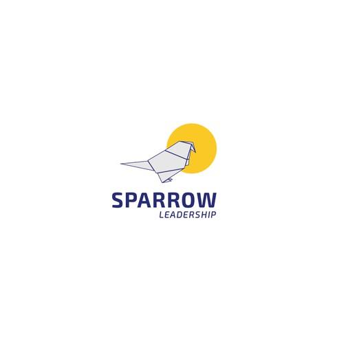 Logo design for Sparrow leadership.