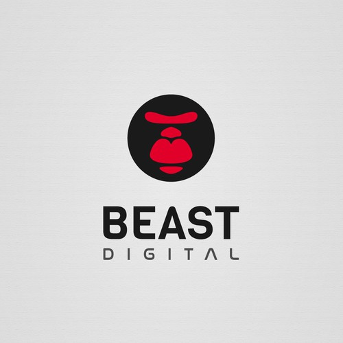 Logo concept for BEAST DIGITAL
