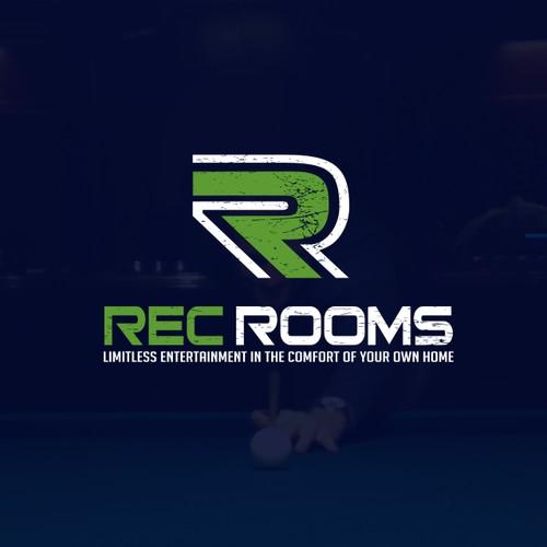 Logo design for Rec Rooms