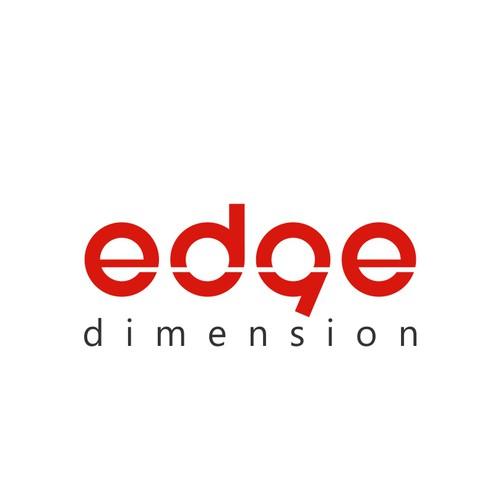 Edge Dimension Logo Concept