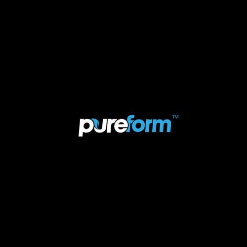 Logo design for pureform