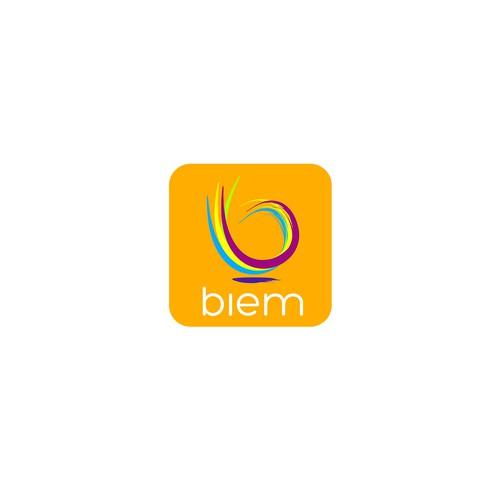 logo concept for Biem / sex, health app
