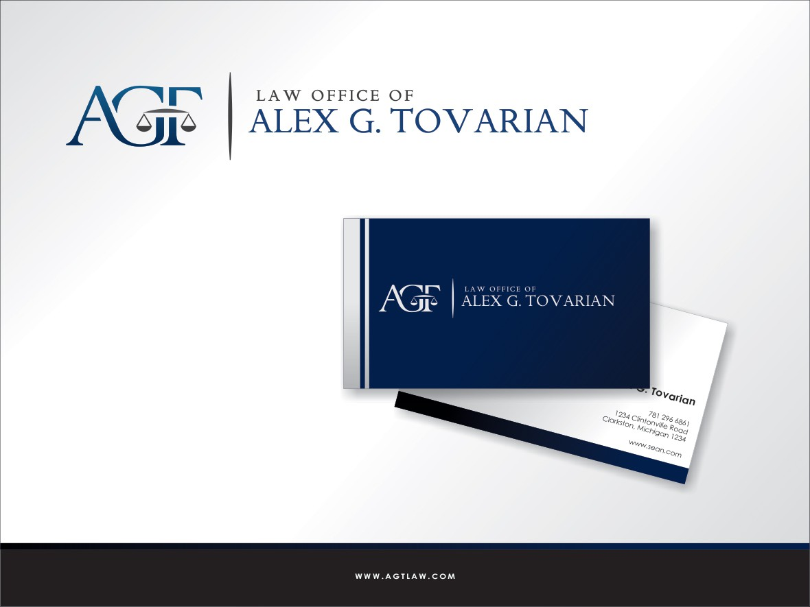 Help Law Office of Alex G. Tovarian with a new logo