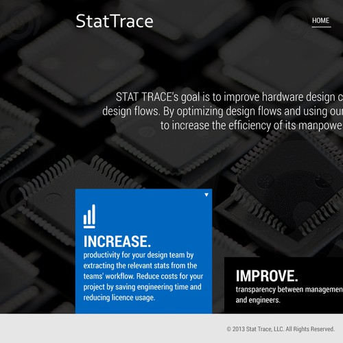 Create a Statistics Page for Stat Trace!