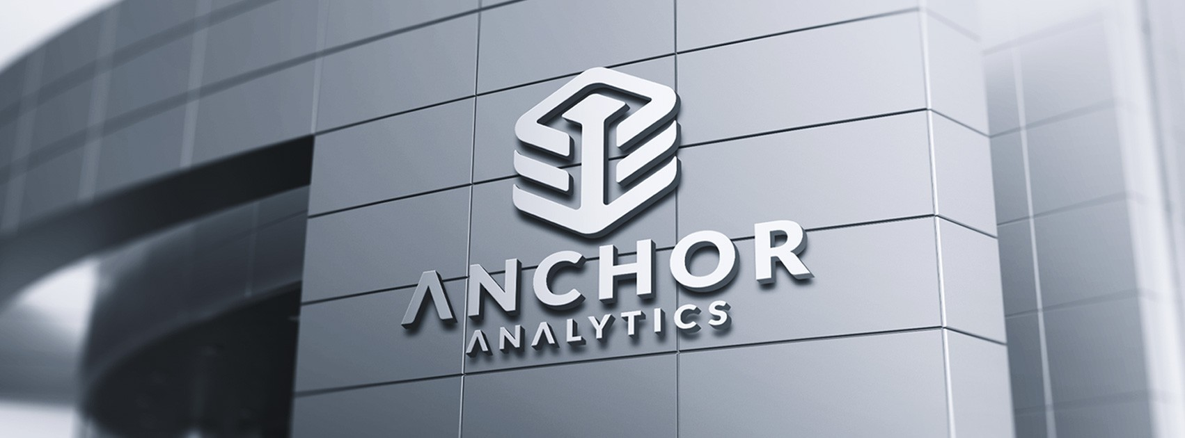Simple Technology Logo for Software & Analytics Startup