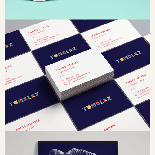 tumblrz - tumbling facility - branding and website