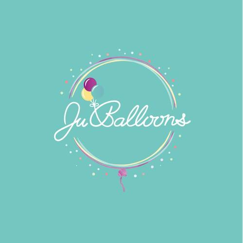 Logo for a balloon company