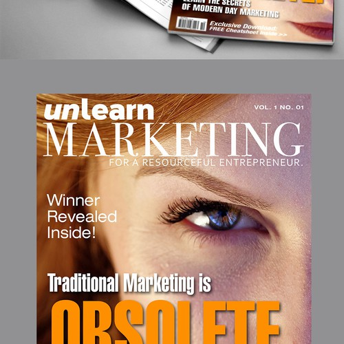 Magazine cover design proposal