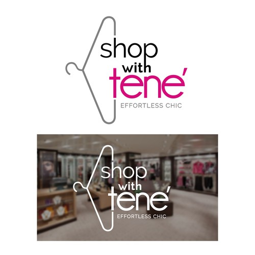 Create a chic logo for a women's clothing store