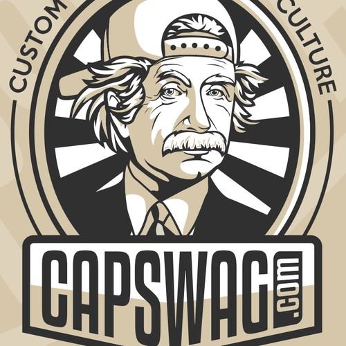 Literal Logo for Capswag
