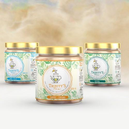unique Tealabel - naure and fresh spirit