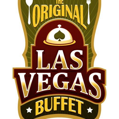 Logo concept for a buffet restaurant