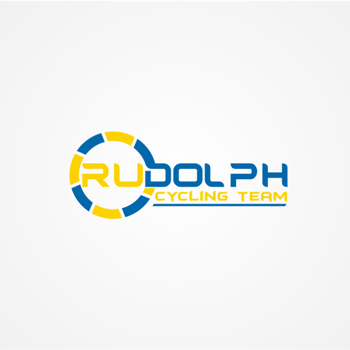 Create fun logo for Rudolph Cycling team