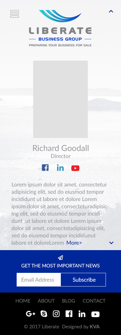Liberate Website
