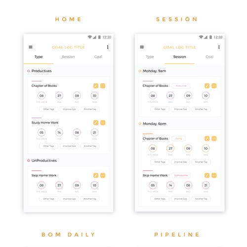App Design for Akwai