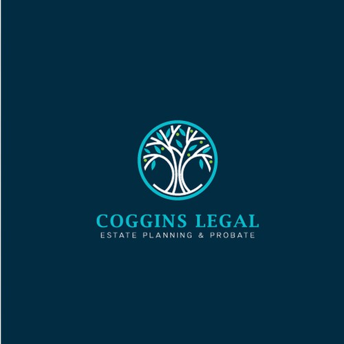 Coggins Legal Logo design