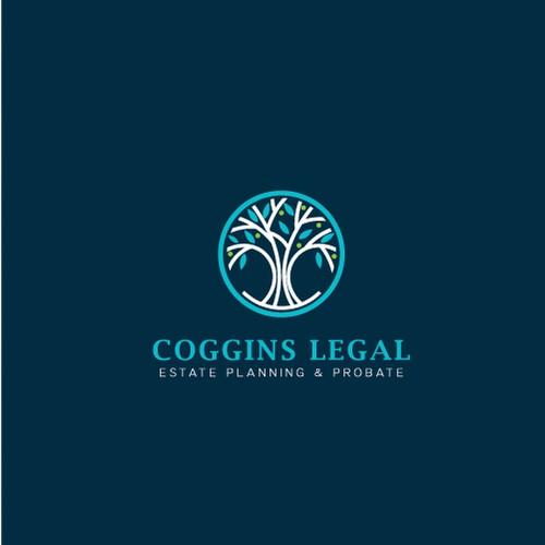 Coggins Legal Logo design