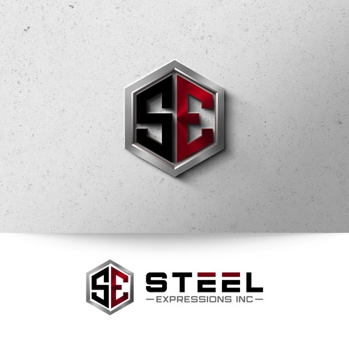 Steel Expression Logo Design